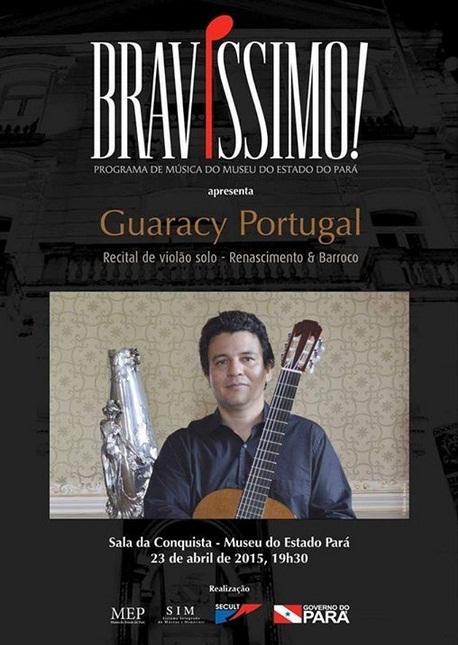 Guaraci Portugal no Projeto Bravíssimo