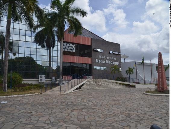 Palácio da Cultura Nenê Macaggi em Boa Vista