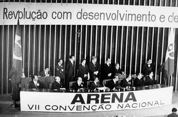 Partido Arena em 1978