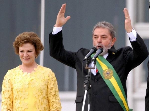 Marisa e Lula da Silva