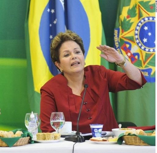 Dilma Rousseff no Planalto